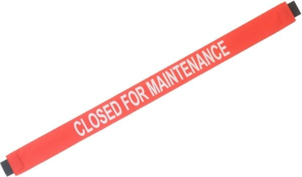 """""""Closed for Maintenance"""" Banner"""